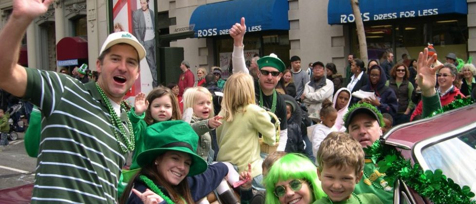 St Patrick's Day Parade - San Francisco